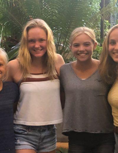 Amelia, Leah, Olivia and Maegan at the Mission Inn (2)