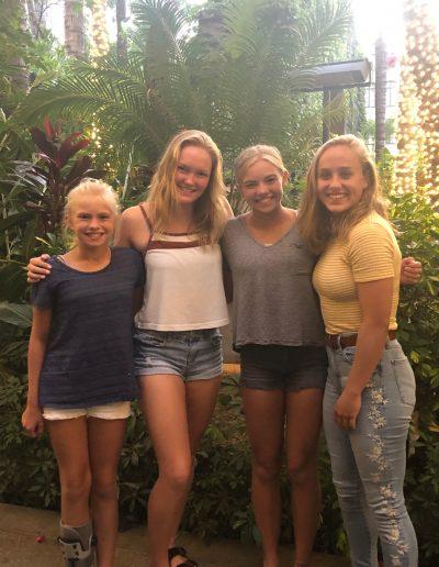Amelia, Leah, Olivia and Maegan at the Mission Inn (3)